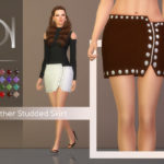 DarkNighTt's Leather Studded Skirt