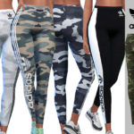 Pinkzombiecupcakes' Adidas Camo Athletic Pants