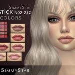 Simmy.Star's SimmyStar lipstick N02 C25