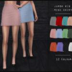 OranosTR's Jumbo Rib Mini Skirt