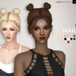 TsminhSims' Nailah ( Hair 68 )