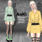 Helsoseira's AAKI – One Piece Mini Dress