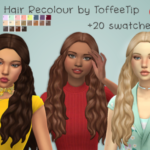 ToffeeTip – Another beautiful hair in this gorgeous palette….