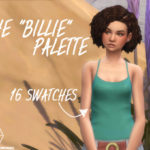 "The ""Billie"" Palette and BG Tank top recolored"