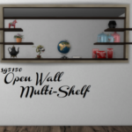 Open Wall Shelf