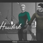 Norman Reedus is my spirit animal | Hauberk sweaters | male | The Sims 4 EA recolor…