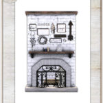 Rustic Fireplace Recolor