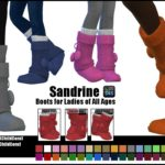 sims4nexus Sandrine -Boots for Ladies of All Ages