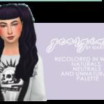 Recolor #7: Kiara Zurk's Georgia hair