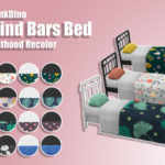 TheLittlePinkDino's Simblr — Behind Bars Bed – Parenthood Recolor Hello…