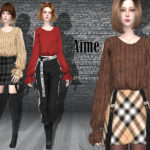 Helsoseira's AIME – Cold shoulder – Sweater/Top
