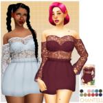 chantelle dress. uh I just named it Chantelle… : 🎃👻