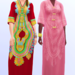 sims, spice and everything nice – ✨ Sagittarian Dream – a long boho dress in 20…