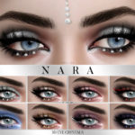 Pralinesims' Nara 3D Eye Crystal Glitter