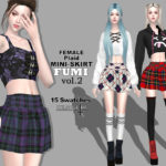 Helsoseira's FUMI – Vol2 – Plaid Mini Skirt