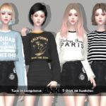 Helsoseira's ANKI – Tuck-in T-Shirt