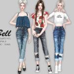 Helsoseira's BELL – Capri Jeans