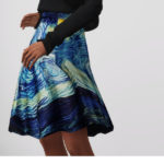 Rusty's — Starry Night Flare Skirt 3 Color 무단수정/2차배포 절대 금지 …