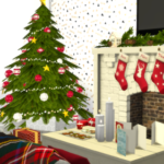 MODELSIMS4. • The Sims 4: CHRISTMAS LIVINGROOM
