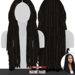Redhead Sims CC | NAINE HAIR NEW MESH Compatible with HQ Mod …
