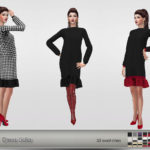 — Dress Lidia – 35 swatches – new mesh all LODs…