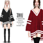 Helsoseira's DIIJ – Oversized Sweater Top