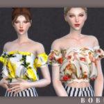 Bobur3's Bobur Camilla crop top