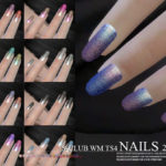 S-Club ts4 WM Nails 201901