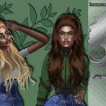 Teenageeaglerunner's Atenea Hair Recolor Mesh needed