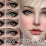 S-Club WM ts4 Eyecolors 201902