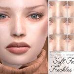 IzzieMcFire's IMF Soft Face Freckles N.08
