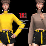 Helsoseira's DISK – Cold Shoulder Top