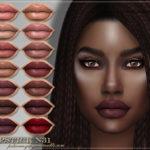 FashionRoyaltySims' FRS Lipstick N31