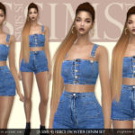 [JS SIMS 4] Fierce Frontier Denim Set @ JS SIMS :: 痞客邦 ::