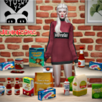Jennisims: Downloads sims 4:Decorative set for Clutter Kitchen (14Items)