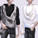[Underground]OF76-layered top   Ts4cc   Studio K Creation