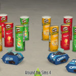 Around the Sims 4 | Custom Content Download | Junk Food