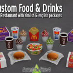 Around the Sims 4 | Custom Content Download | McDonald's Fast Food Restaurant