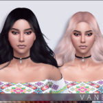 Anto – Vanesa Hairstyle 27 colours works with hats baked…