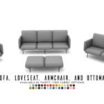 JAKOB SEATING COLLECTION – MODERN COMFORT OBJECTS