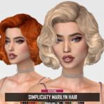 RUCHELLSIMS – SIMPLICIATY MARILYN HAIR (RETEXTURE)