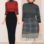 DAISY-PIXELS – ̗̀ Lucy Set ̖́- (Top & Skirt)