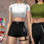 Trillyke – Lisa Mesh Top