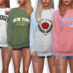 Pinkzombiecupcakes' Sporty and Everyday Sweatshirts Collection 091-MESH REQUIRED