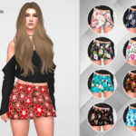 remaron's Skirt floral for women
