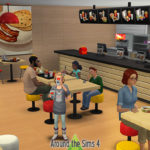 Around the Sims 4 | Custom Content Download | McDonald's Fast Food Restaurant