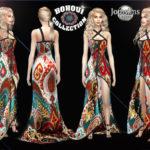 jomsims' BOHOUI Collection evening dress