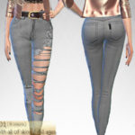 turksimmer's Ripped Jeans 01