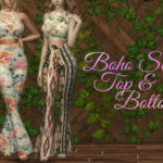 Dissia's Boho Set – Top and Bottom