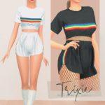 Trixie Set (Happy Pride Month) ❤️💜💚💙💛 | Daisy Pixels